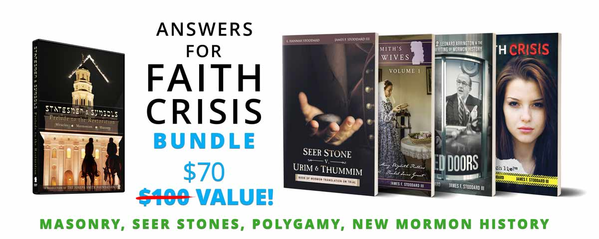 Answers for Faith Crisis Bundle by the Joseph Smith Foundation