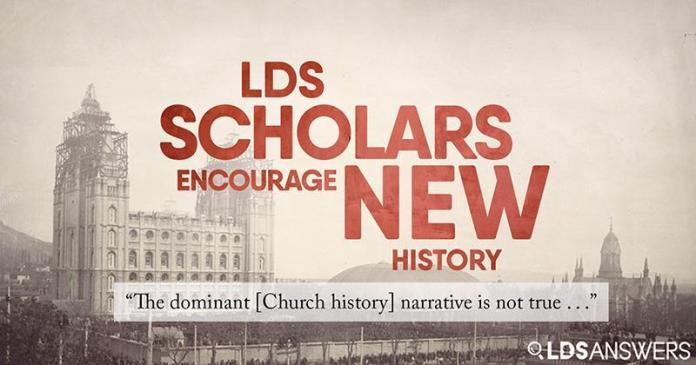 """Article by LDSAnswers: """"The dominant [Church history] narrative is not true . . ."""" LDS scholars encourage new history, new policy, new Church"""
