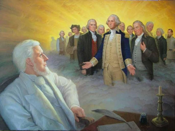 Eminent Spirits Appear to Wilford Woodruff, Joseph Smith Foundation