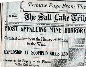 Scofield Mine 1
